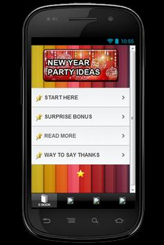 New Year Eve Party Ideas poster