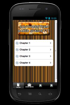 Recipes Baked Spaghetti apk screenshot