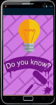Did you know ??? poster