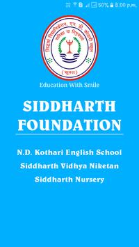 Siddharth Foundation poster