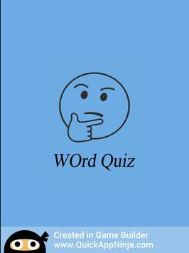 Words Quiz apk screenshot