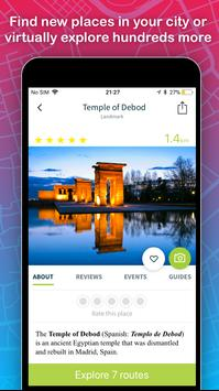 Sidekix Sightseeing, Navigation, Itinerary, Maps apk screenshot