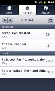 XPS Nutrition apk screenshot