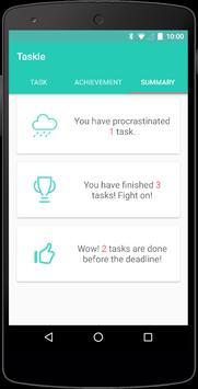 Taskie: Simple To-Do List apk screenshot