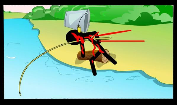 Stickman Fishing apk screenshot