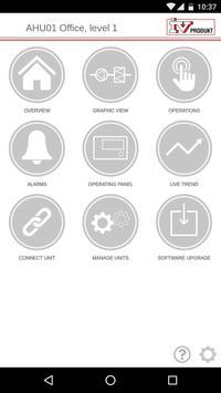 IV Produkt AHU Controls poster