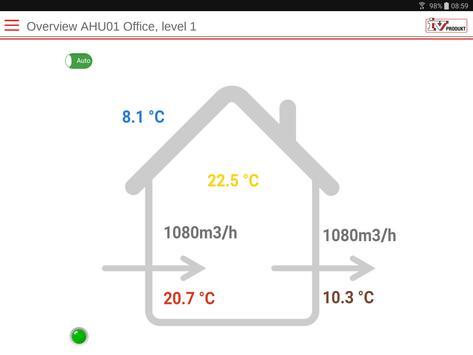 IV Produkt AHU Controls screenshot 5