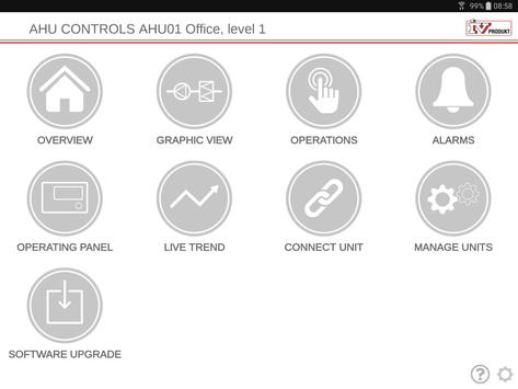 IV Produkt AHU Controls screenshot 8