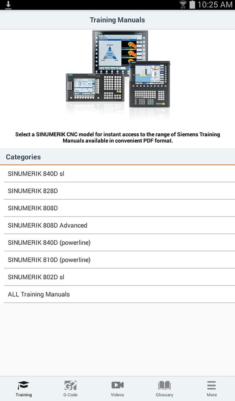 Siemens training manuals