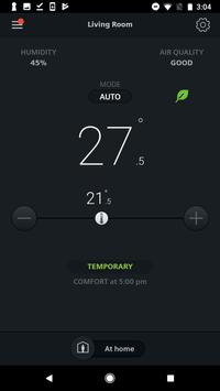 Siemens Smart Thermostat RDS poster