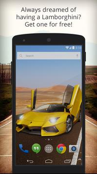 UR 3D Lamborghini Live Theme poster