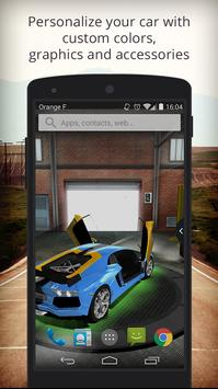 UR 3D Lamborghini Live Theme apk screenshot