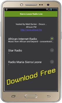 Sierra Leone Radio Live poster