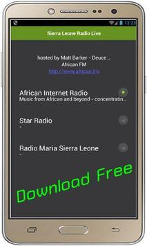 Sierra Leone Radio Live screenshot 1