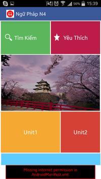 Tieng nhat N4 apk screenshot