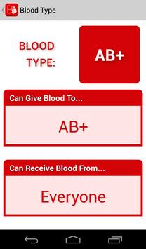 Blood Type screenshot 1