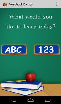 Preschool: Basics poster