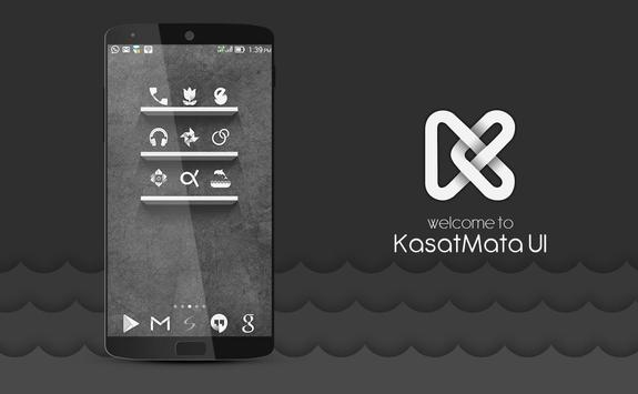 KasatMata UI Icon Pack Theme penulis hantaran
