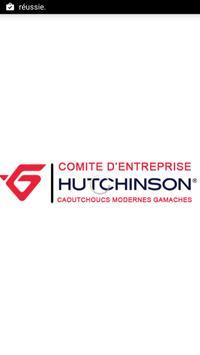 CE Hutchinson Caoutchoucs poster