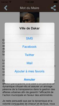 Ville de Dakar apk screenshot