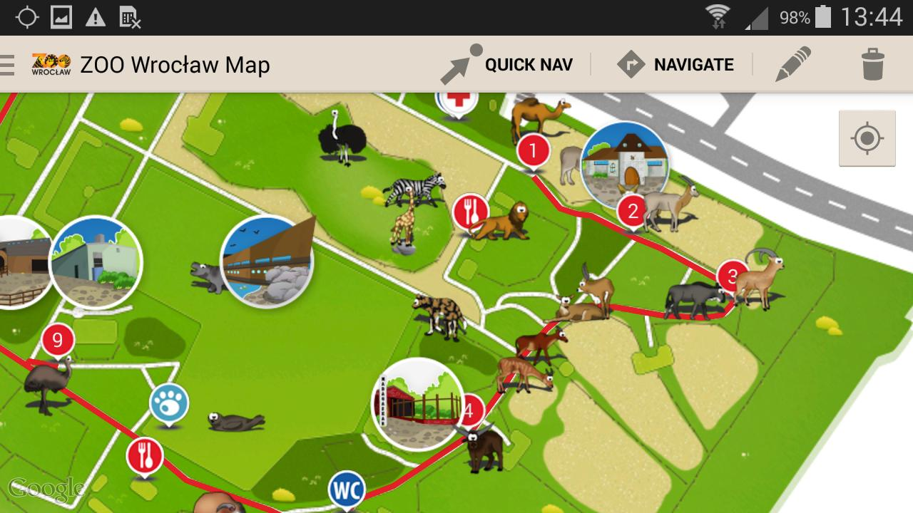Zoo Wroclaw Map For Android Apk Download