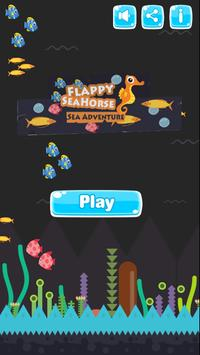 Flappy Seahorse poster
