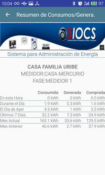 SIOCS Energía apk screenshot