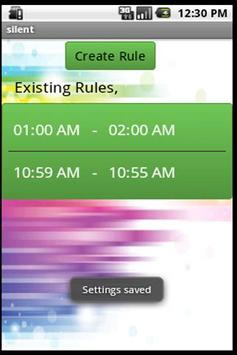 Silent Droid (with widget) screenshot 2
