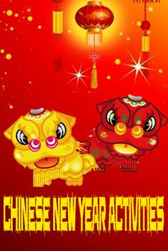 Chinese New Year Activities poster