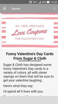 Valentine Card Funny screenshot 2