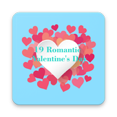 19 Romantic Valentines Day icon