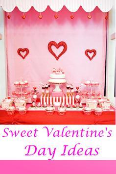 Sweet Valentine's Day Ideas poster