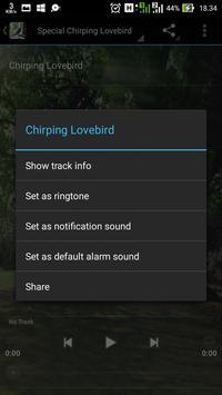 Popular Lovebird Chirping apk screenshot