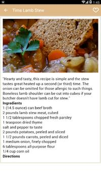 Beef Stew Recipes screenshot 2