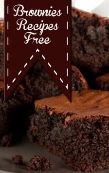 Brownies Recipes Free poster