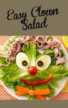 Easy Clown Salad Recipe poster