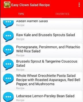 Easy Clown Salad Recipe screenshot 1