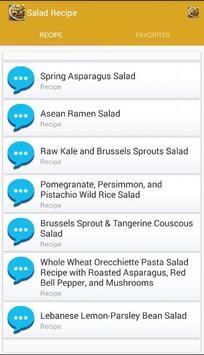 Salad Recipe screenshot 1