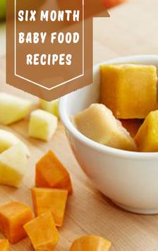 Six month baby food recipes apk download free food drink app for six month baby food recipes poster forumfinder Image collections