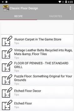 Classic Floor Design screenshot 2