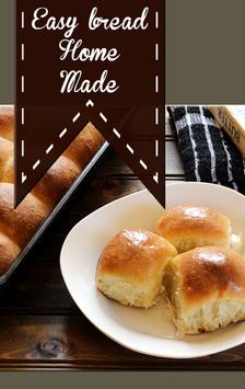 Easy Bread Home Made poster