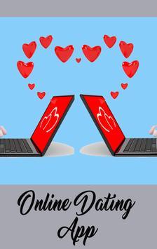 Online dating App poster