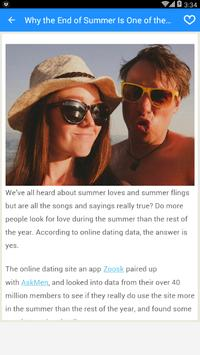 Online dating App screenshot 2