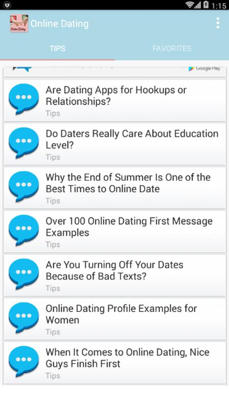 Good online dating first message examples