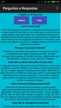 Dúvidas Zona Azul Irecê screenshot 2