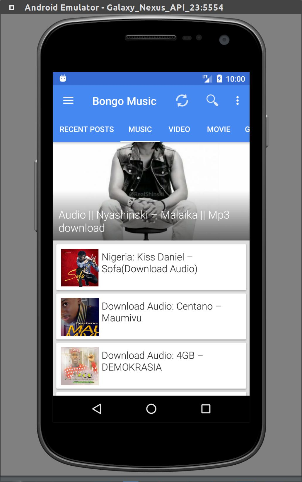 Bongo Music for Android - APK Download