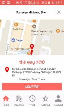 2GO Partner apk screenshot
