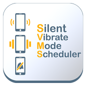 Silent Vibrate mode scheduler. icon