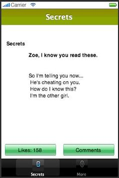 Six Billion Secrets apk screenshot