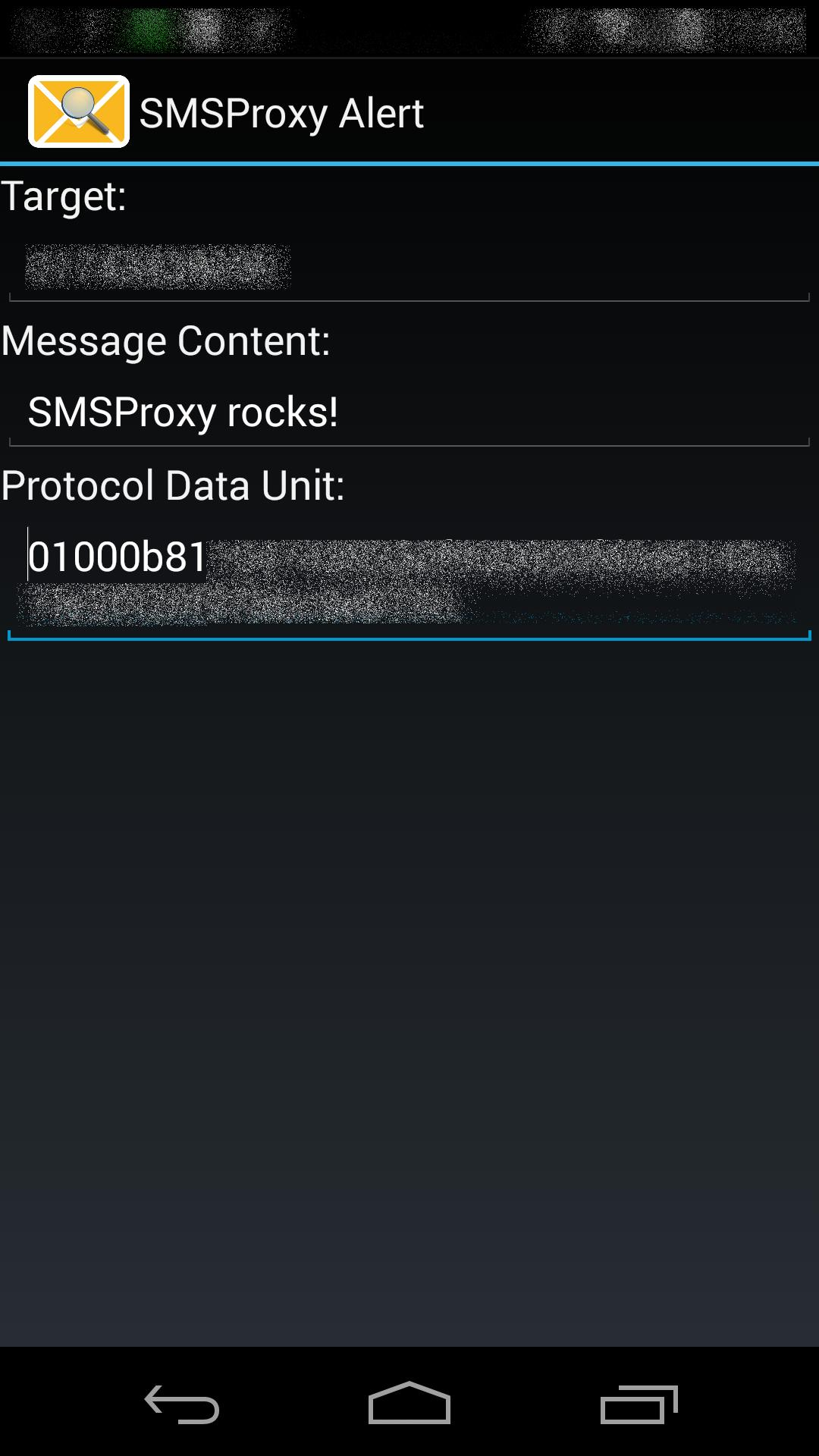 SMSProxy [ROOT] [Xposed] for Android - APK Download